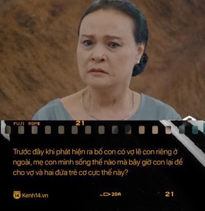 Học thuộc lòng 9 câu thoại để đời của mẹ chồng quốc dân 'Hoa Hồng Trên Ngực Trái': 'Mẹ cấm con xúc phạm vợ mình!' - 9