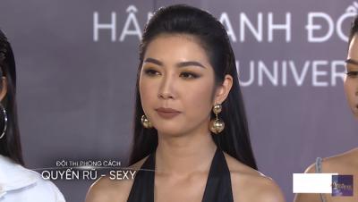 Tôi là Hoa hậu Hoàn Vũ Việt Nam: Sau 3 tập bị Vũ Thu Phương vùi dập, cuối cùng Thúy Vân cũng cứng rắn đáp trả - 4