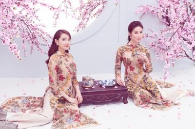 'Chị chị em em' Nhã Phương - Diễm My 9x đẹp xuất thần trong bộ ảnh đón xuân Canh Tý - 3