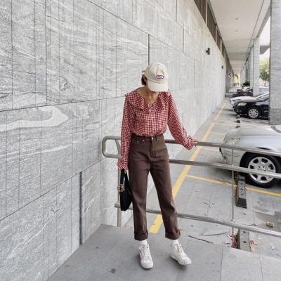 Street style hội sành mặc Instagram: Quần ống rộng 'càn quét' mọi mặt trận, ai diện chân cũng dài đến nách - 6