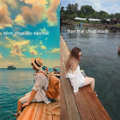 Lục lại album ảnh du lịch cũ, gái xinh ngậm ngùi than thở bạn trai chụp ảnh cho mình 'như kẻ thù' - 2