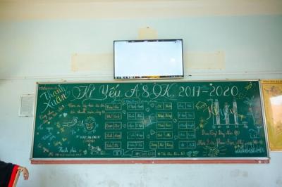 Ký ức tuổi học trò đong đầy trong những tác phẩm vẽ bảng đầy tinh tế - 6