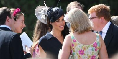 Meghan Markle từng có thái độ thô lỗ ngay trong hôn lễ bạn thân nhất của Harry và tham vọng 'đánh bại' Công nương Diana - 2
