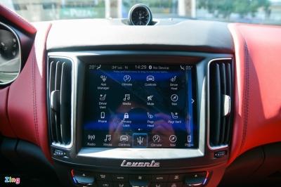 Chi tiết Maserati Levante tại VN, SUV hạng sang giá từ 5,5 tỷ đồng - 8