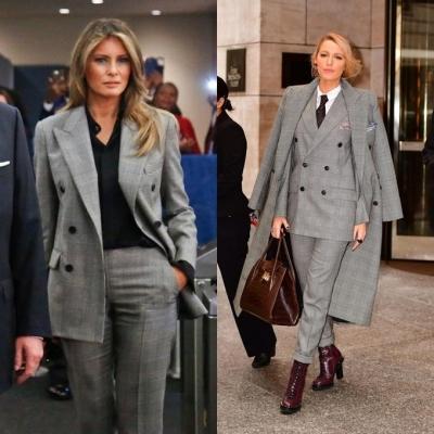 Bước sang tuổi 50, bà Melania Trump vẫn lấn lướt chân dài 18 tuổi về độ sang chảnh khi cùng diện váy hiệu - 6