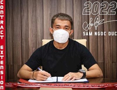 TPHCM gia hạn hợp đồng với đội trưởng Sầm Ngọc Đức