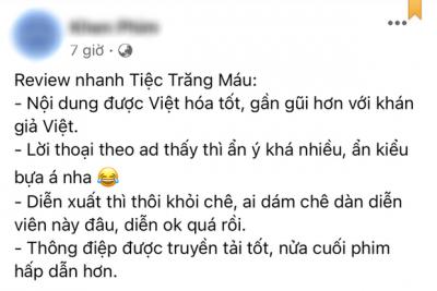 Netizen review nóng Tiệc Trăng Máu: 'Bom tấn' Việt tròn trịa nhất năm, phim hay ăn đứt bản Hàn nha! - 9