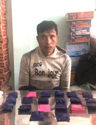 Bắt đối tượng vận chuyển 4.000 viên ma túy từ Lào về Điện Biên