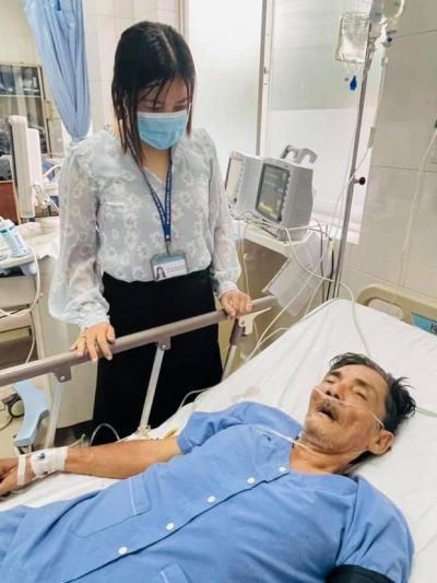 Nhân viên y tế cập nhật về tình trạng nguy kịch của diễn viên Thương Tín, bệnh viện tuyên bố hỗ trợ viện phí cho nam NS - 1