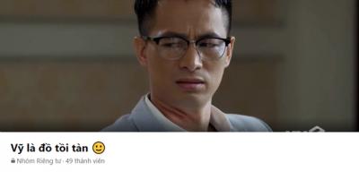 Hướng dương ngược nắng: Cưỡng hiếp Châu, Vỹ trở thành nhân vật đầu tiên phim Việt có riêng group anti
