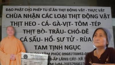 Các YouTuber đồng loạt xóa bỏ nội dung về 'thầy chùa ăn thịt chó' - 2