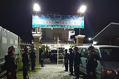 Hàng trăm công an được huy động bắt kẻ cầm đầu phóng hoả đốt nhà đội trưởng cảnh sát hình sự - 1