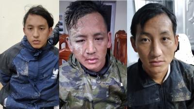 Tóm gọn 3 đối tượng chạy xe máy vận chuyển 40 bánh heroin ở Cao Bằng