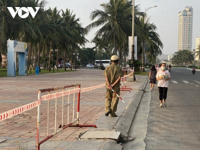 Biển Đà Nẵng ngày đầu siết chặt các biện pháp phòng, chống dịch Covid-19 - 9