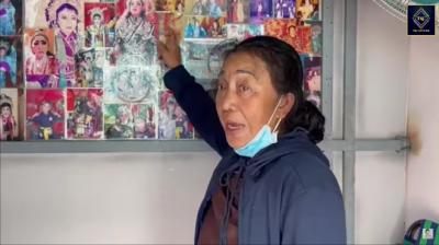 Nghệ sĩ Tuấn Anh bị đột quỵ, xuất huyết não, phải ở nhờ nhà, vợ chạy xe ôm, bán vé số - 1