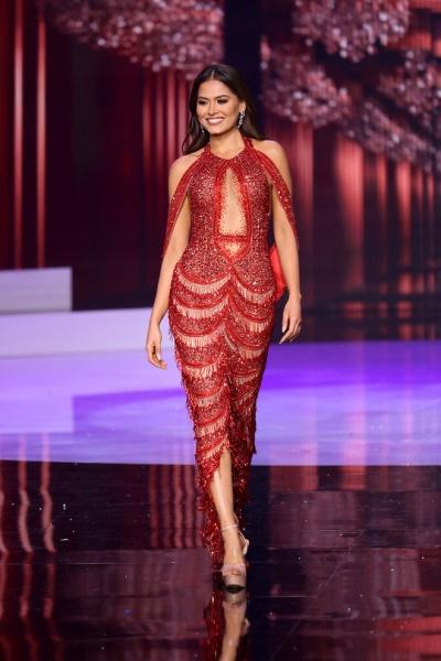 HÓNG: Rộ nghi vấn chiếc đầm tân Hoa hậu Hoàn vũ mặc chỉ là hàng đạo nhái trắng trợn!