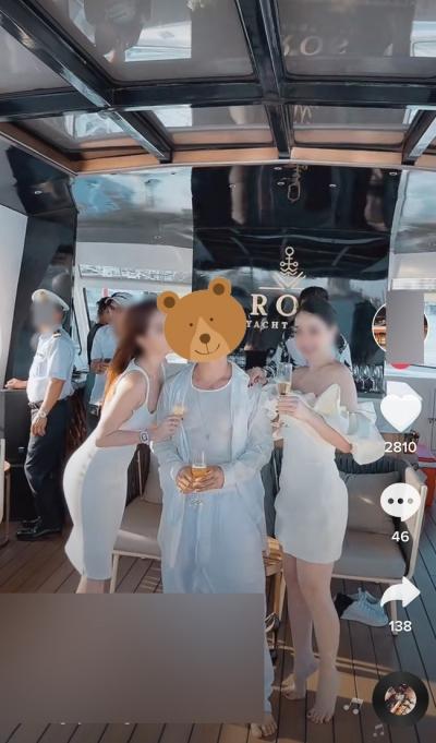 Một tài khoản Tiktok được cho là của nam chính trong clip 'nóng' với hot girl đóng phim Về nhà đi con bị dân mạng công kích, thường xuyên đi chơi với nhiều người mẫu cực nổi tiếng