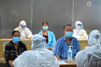 Bệnh viện dã chiến ở Thuận Kiều Plaza chính thức tiếp nhận, điều trị bệnh nhân Covid-19 - 8