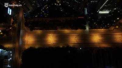 Ảnh: Đêm Hà Nội 'vắng hơn Tết', đường phố không một bóng người trong những ngày giãn cách xã hội - 4