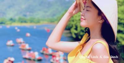 MC Quyền Linh 'xả' clip du lịch ở Ninh Bình hồi lâu, nhan sắc Lọ Lem và Hạt Dẻ lại khiến dân tình quên ngắm cảnh rồi! - 5