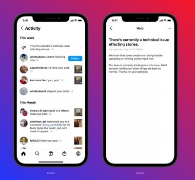 Sau 'liên hoàn lỗi', Instagram đang thử nghiệm tính năng thông báo sự cố cho người dùng? - 1